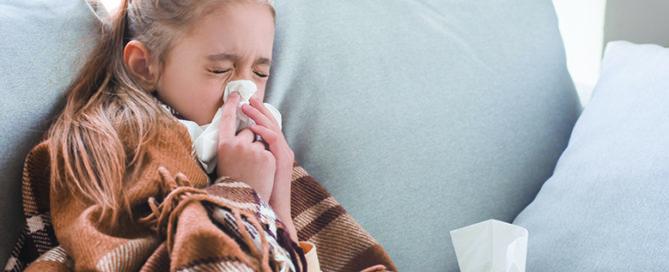 prevenir la sinusitis en ninos