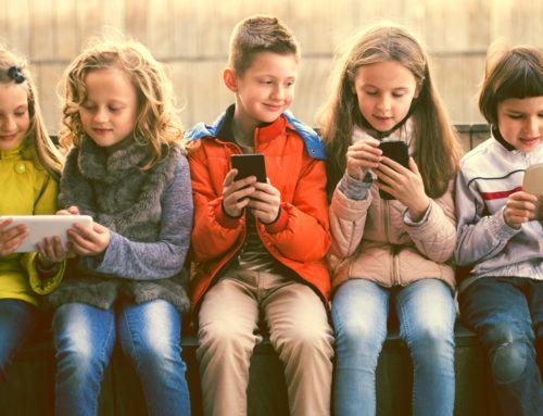 Niños y teléfonos móviles. ¿A partir de qué edad es recomendable?