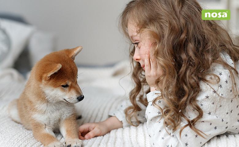 beneficios de tener perro para los niños NOSA