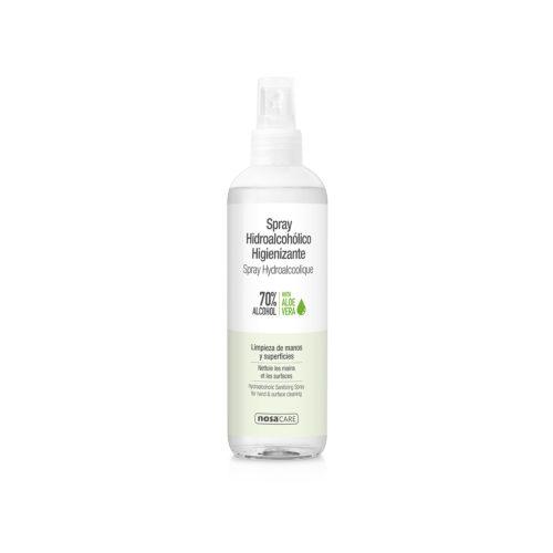 spray higienizante hidroalcohólico con aloe vera Nosa Care 250ml